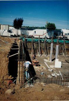 Cimientos, fonaments, muros, murs,forjados, forjats