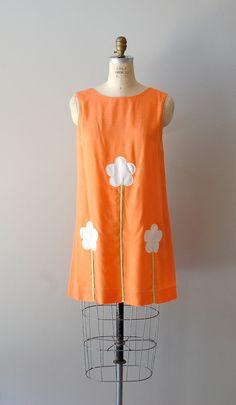 vintage 1960s Mallowflower tent dress     #vintagedress