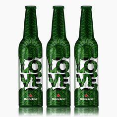 Heineken bottle design for Trafiq Bar & Club on Packaging of the World - Creative Package Design Gallery