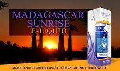 Halo Cigs Madagascar Sunrise e-liquid.