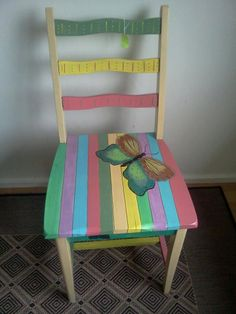 Painted Chairs | hand painted chairs n chowki | deckss.com