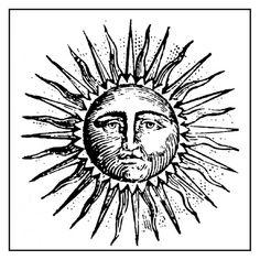 Stamperia Stempel Sonne Sun - Bazaar al-waraq - 16 Tattoo, Sun Tattoos, Tatoos, Flower Tattoos, Sonne Illustration, Art Soleil, Tattoo Sonne, Sun Drawing, Hawaiian Tattoo