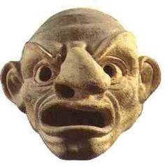 Ancient Greek #mask.