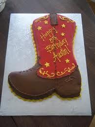 cowboy boot cake - Google Search