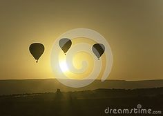 Photo shows flying balloons at dawn over Cappadocia http://www.photokameljurkowski.pl