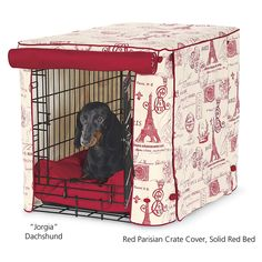 Crate Cover - Dog Beds, Dog Harnesses and Collars, Dog Clothes and Gifts for Dog Lovers | In The Company Of Dogs