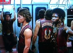 The Warriors on their way to hear Cyrus! Cult Movies, Action Movies, Great Films, Good Movies, The Warriors Baseball Furies, Normal Movie, James Remar, Michael Beck, Warrior Movie