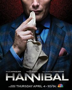 Directed by David Slade. With Hugh Dancy, Mads Mikkelsen, Caroline Dhavernas, Laurence Fishburne. Jack and team discover the truth of Freddie Lounds' disappearance. Hannibal shows Will how much Abigail reminded him of his sister. Hannibal Lecter, Hannibal Season 1, Hannibal Tv Series, Nbc Hannibal, Hannibal Rising, Tv Shows 2013, Tv Series 2013, Best Tv Shows, Movie Posters