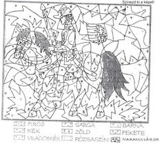 JujoBoro: Március 15. Free Coloring Pages, Techno, Kindergarten, Diagram, Birds, Map, School, Free Colouring Pages, Location Map