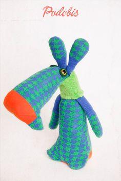 soft toy, sock doll, Podobis