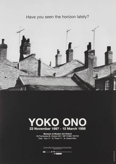 In fact, the Judd exhibition poster from the previous article is part of a collection of 50 art posters from the Modern Art Oxford Callery. Selected by artists Simon & Tom Bloor as a celebration of the 50 years of the institution, each of the 50 posters is coupled with contextual stories you can...
