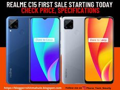 Realme C15 First Sale Starting Today in India via Flipkart, Realme.com: Check Price, Specifications All India News, Dual Sim, Phone, Check, Telephone, Mobile Phones
