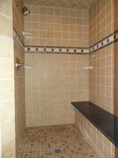 Master Bathroom Stand Up Shower