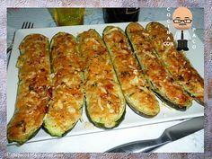 Cocina con Paco: Calabacines rellenos de atún