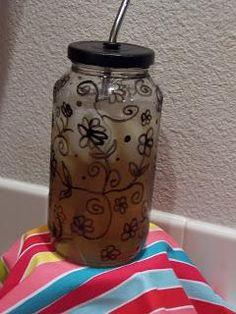 DIY Glass DIY Glass Straw Cup DIY Glass