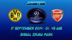 Prediksi Skor Borussia Dortmund Vs Arsenal 17 September 2014