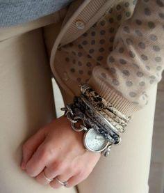 Bracelet wild, jungle pattern snake print