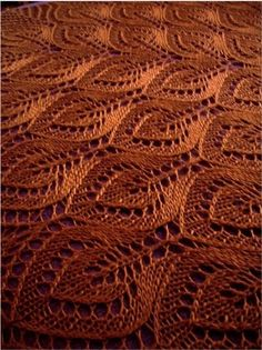Vintage Driftwood: Free knitting pattern for Nightsongs lace shawl Nightsongs Shawl Jane Araújo designed this lovely lace pattern. Get the free knitting pattern Ravelry: klun's Blonde Redhead knit from Gail (aka Nightsongs) pattern by Jane Araújo. Lace Knitting Patterns, Shawl Patterns, Lace Patterns, Free Knitting, Stitch Patterns, Knitting Scarves, Leaf Knitting Pattern, Lace Knitting Stitches, Finger Knitting