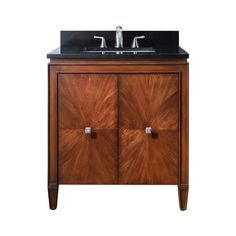 "Buy the Avanity BRENTWOOD-V31-NW New Walnut Direct. Shop for the Avanity BRENTWOOD-V31-NW New Walnut Brentwood 31"" Bathroom Vanity Cabinet Only and save."