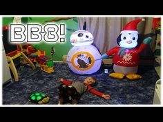 Max LOVES and was so excited when his Papa ordered him one and it finally arrived! Watch the unboxing as Max opens and sets up his cute little Star Wars. Circus Maximus, Bb8, Cute Stars, Little Star, Star Wars, Make It Yourself, Christmas Ornaments, Holiday Decor, Kids