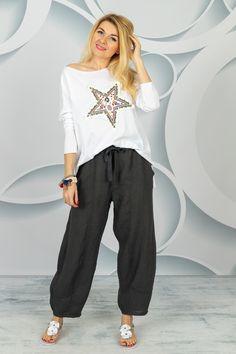 Benetton, Spring Collection, Harem Pants, Fashion, Stars, Tunic, Moda, Harem Trousers, Fashion Styles