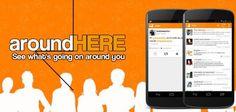 AroundHere: aplicación Android que permite ver en tiempo real lo que la gente publica en Twitter