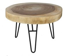 COFFEE TABLE MUNGGUR WITH IRON LEGS Salontafels