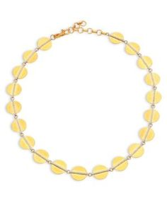 GURHAN Lush Diamond, 24K Yellow Gold & 18K White Gold Necklace. #gurhan #necklace