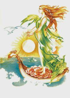 Elena Boariu - Craiasa de borangic Illustrators, Disney Characters, Fictional Characters, Fantasy, Disney Princess, Painting, Children, Art, Young Children