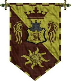 Medieval Flags and Banners Pattern   MEDIEVAL BANNER