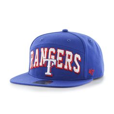 buy online a84bf 69f26 Texas Rangers Devoe Captain Sf Royal 47 Brand Adjustable Hat