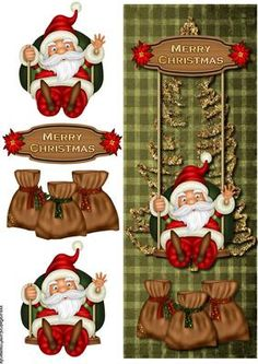 free christmas decoupage card making Christmas Sheets, 3d Christmas, Christmas Clipart, Christmas Printables, Christmas Images, Christmas Decoupage, Christmas Paper Crafts, 3d Cards, Xmas Cards