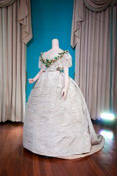 Worn by Princess Alexandra of Denmark on her wedding day in 1863