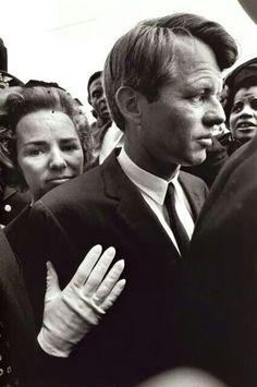 Robert and Ethel Kennedy