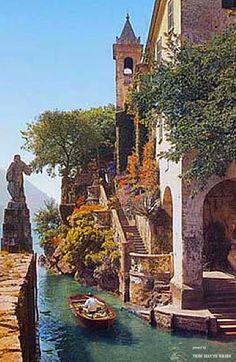 Villa del Balbianello, Lake Como ♔THB♔
