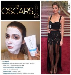 """Celebrities love R+F!!! Check out E! Host + Fashion Correspondent, Orly Shani, getting ready for the Oscars last night with Rodan + Fields Redefine Regimen and R+F Acute Care patches! Recently rated #1 """"Better than Botox"""" by Total Beauty. Think of Redefine's Acute Care as an at home alternative to injectables. Only Rodan + Fields has it! Shop at: www.carlavaracalli.myrandf.com"""