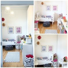Complementos decorativos para la habitación bebé