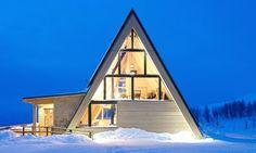 Topprestaurang Björk Hemavan designed by Murman Arkitekter