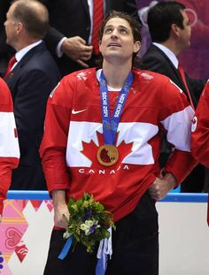 Patrick Sharp looks on during the medal ceremony.
