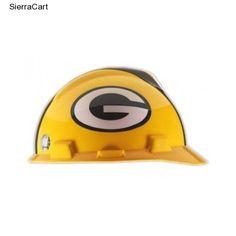 0f81b3b0200 NFL Hard Hat Green Bay Packers Fan Souvenir Football Packer Pack Game Work  Cap  GreenBayPackers