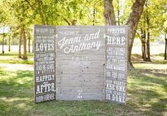Tulsa, Oklahoma Ranch Wedding from Imago Vita Photography Diy Wedding Backdrop, Diy Backdrop, Ceremony Backdrop, Wedding Ceremony, Our Wedding, Dream Wedding, Wedding Decorations, Wedding Stuff, Reunion Decorations