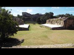 Yucatan Informativo TV El juego de pelota en Uxmal, Yucatan, Mexico