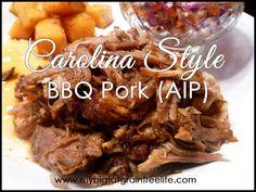 Carolina Style BBQ Pork (AIP, Paleo, GAPS, SCD)