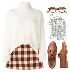 with a kiss on your head by winterlilac12 on Polyvore featuring polyvore fashion style Ermanno Scervino Marni Gap clothing