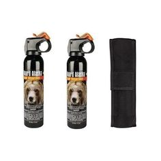 BUNDLE - 3 ITEMS - 2 Cans Guard Alaska Bear Repellant plus 1 Nylon Holster >>> See this great product.