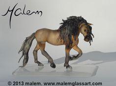 Equine Art by Malem Glass Artist Canadian Horse, Primroses, Equine Art, Animal Sculptures, Glass Art, Creatures, Horses, Artist, Unique