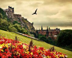 Edinburgh -- Our first trip overseas in 1984 - breathtaking