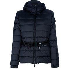 1f1e1915426a new release dcf78 c8d37 moncler girls black logo ribbed fur pom pom ...
