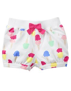 Gymboree kids clothing celebrates the joy of childhood. Shop our wide selection of high quality baby clothes, toddler clothing and kids apparel. Little Girl Outfits, Toddler Girl Outfits, Toddler Fashion, Kids Outfits, Kids Fashion, Baby Girl Pants, Girls Pants, Short Niña, Kids Nightwear