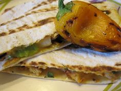 Mmm...Cafe: Grilled Quesadillas